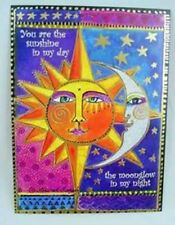 "Laurel Burch Card  Love - ""Sister Sun Brother Moon"" With Envelope"