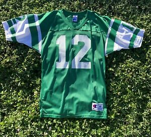 Joe Namath 1968 NFL New York Jets Throwback Replica Jersey Champion Size 40 Nwot