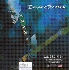 DAVID GILMOUR - THE FORUM, INGLEWOOD, CALIFORNIA, 27 march 2016 (2 CD)