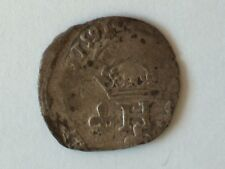 FRANCE Monnayage au nom de Henri III Double sol parisis 2e type 1591
