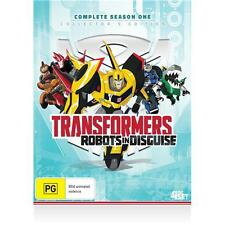 Transformers -  Robots In Disguise Season 1  (4 DISC BOX SET)  LIKE NEW REGION 4