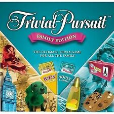 Trivial Pursuit Family Edition Board Game 2015 UK Hasbro 73013