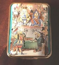 Halcyon Days Queen of Hearts Enamel Pill Box