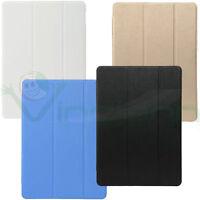 Pellicola+Custodia smart cover retro trasparente iPad Pro 9.7 case stand sottile