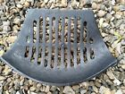 """FIRE GRILL GRATE VINTAGE CAST IRON FIRE PLACE OLD 4.5 H - 9 D - 12.5 FW 8"""" BW"""