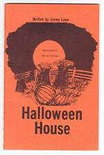 HALLOWEEN HOUSE by Jimmy Lowe (signed) - 1975 ghost story - Dexter Bowles art