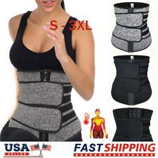 Women Waist Trainer Neoprene Belt Sweat Body Shaper Tummy Control Slimmer USA