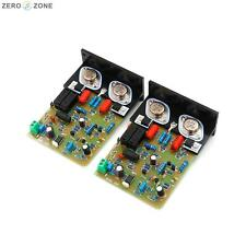 Assembeld QUAD405 CLONE Amp board with MJ15024+Angle aluminum (2 CH) 100W+100W