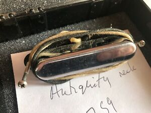 SEYMOUR DUNCAN ANTIQUITY TELECASTER NECK PICKUP SIGNED VINTAGE USED REPLACEMENT