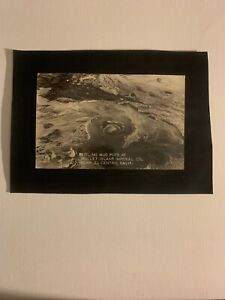 Antique Real Photo Postcard Black And White  Mud Pots California
