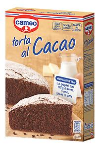 CAMEO PREPARATO PER TORTA AL CACAO CLASSICA COLAZIONE CIOCCOLATO MERENDA DESSERT