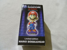 NEW IN BOX NINTENDO GAMECUBE TARGET EXCLUSIVE MARIO BOBBLEHEAD LIMITED EDITION >