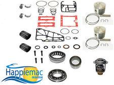 Evinrude 40 50 60 65 2 Cyl ETEC Powerhead Piston Gasket Bearing Rebuild Kit