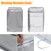 Washing Machine Cover Waterproof Washer Cover Fit For Front Load Washer Dryer AU