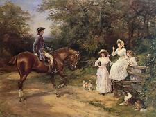 Cavalier King Charles English Jouet EPAGNEUL bordure chien border collie Estampe