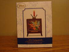 DISNEY Sketchbook TINKER BELL Light Up Christmas Holiday Ornament LE 1000 *NEW*