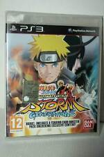 NARUTO SHIPPUDEN ULTIMATE NINJA STORM GENERATIONS NUOVO SONY PS3 ED UK VBC 26229
