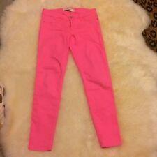 A&F skinny jean, women SZ 4 small, Pink