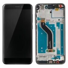 DISPLAY LCD + TOUCH SCREEN + FRAME VETRO VETRINO PER HUAWEI P8 LITE 2017 NERO