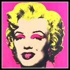 "4"" Andy Warhol Marilyn Monroe vinyl sticker. Classic Pop Art decal for laptop."
