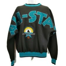 San Jose Sharks NHL Sweatshirt Vintage 1997 All Star Game Spell Out Sewn Size M