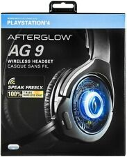 PDP Afterglow AG 9+ Wireless Headset For PlayStation 4, Black