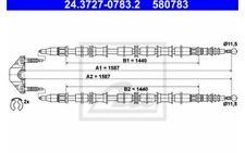 ATE Cable de accionamiento, freno estacionamiento OPEL ASTRA 24.3727-0783.2