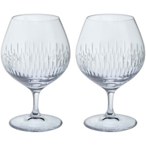 Dartington Crystal Brandy Glasses Limelight Mitre Collection Pack of 2 BOXED