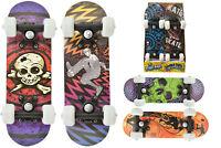 Childrens Kids 45cm Double Kick Skateboard Practise Deck - CHOOSE DESIGN TY4024