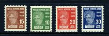 NORWAY 1929 Niels Abel, Mathematician (145-148) . Very Fine! Mint Never Hinged