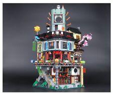 06066 MOC City Masters of Spinjitzu Building Blocks Bricks 4953pcs