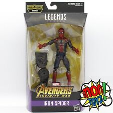 Iron Spider Man Marvel Legends Infinity War Wave THANOS BAF HTF