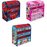 Character Toy Organiser Kids Bedroom Storage Wooden Frame Multi Bin Playroom Box
