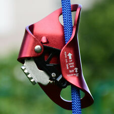 Single 8-12mm Rope Climbing Chest Ascender Arborist Outdoor Vertical Ascend Gear