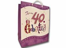 Geschenktüte zum 40. Geburtstag / Geschenk