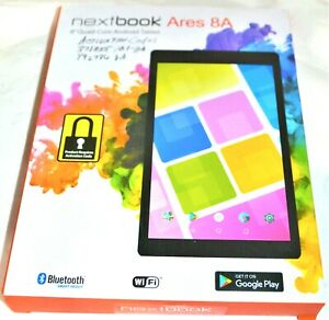 Nextbook Ares 8a With WiFi 8 Touchscreen Tablet PC Featuring Android Red