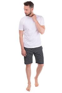 POLO RALPH LAUREN Pyjama Shorts Size S Striped Pattern Embroidered Logo