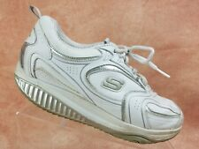 Sketchers Shape Ups Toning Shoe Size 9 Women's White Walking Sneaker