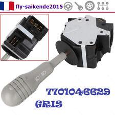 Commodo Eclairage Phare Clignotant Pour Renault Twingo I gris 7701046629 COMMODO