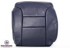 1996 GMC Sierra C/K C1500 K1500 SLT -Driver Lean Back Leather Seat Cover Blue
