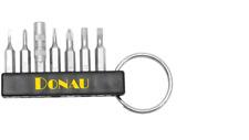 Schlüsselanhänger für Mini Bits Steckplatz für 7 Mini Bits LIEFERUNG OHNE BITS