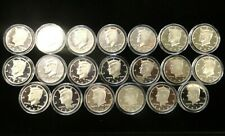 1992-2011 Silver Kennedy Complete Half Dollar Set - Uncirculated, Ungraded