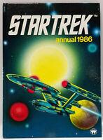 Vintage Star Trek Annual 1986Hardcover Comic Book