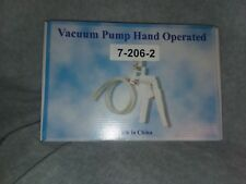 American Educational Hand Operated Vacuum Pump Without Gauge American Educationa