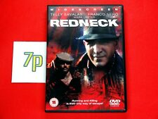Redneck (DVD) Telly Savalas, Franco Nero, Mark Lester ✔️ VGC