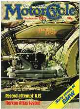 CM 83-09  Norton Atlas, 60 years of BMW Royal Enfield Meteor supercharged AJS