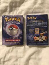 Pokemon 2 Player Starter Base Set 1 Machamp 1st Deck 1999 English
