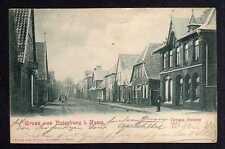 99439 AK Rotenburg in Hannover Wümme Grosse Strasse 1901 Bahnpost Hamburg - Osna