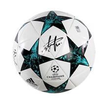Champions League Memorabilia Eden Hazard Hand Signed Football Autograph COA