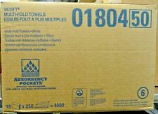 "NEW Scott Multi-Fold Paper Towel 01804 9.25""x9.5"" 16 Pack(s), 250 Towels/ Pack"